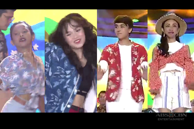 Kapamilya teen dance idols perform the newest dance craze