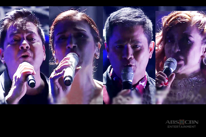 Ogie, Martin, Zsazsa and Lani in a word-class The Greatest Showman medley performance