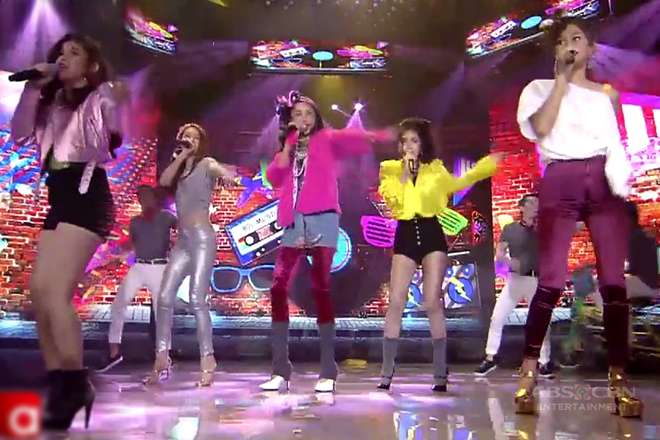 Maymay joins ASAP BFF5 with their quirky 90s prod number