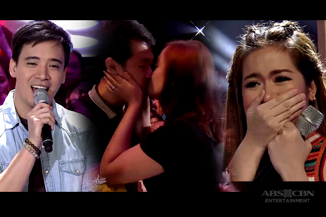 WATCH: Live proposal of sweet couple touches Erik & Angeline's hearts