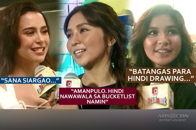 WATCH: Saan ang dream destination ng ilan sa Kapamilya stars ngayong summer 2018?