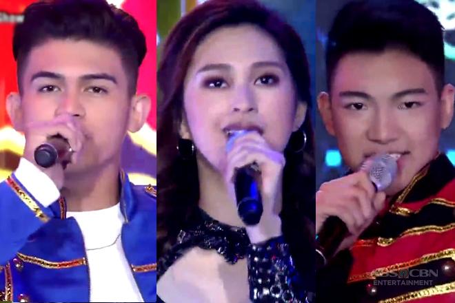 Iñigo Pascual, Darren Espanto and Isabela Vinzon's intense vocal showdown on ASAP