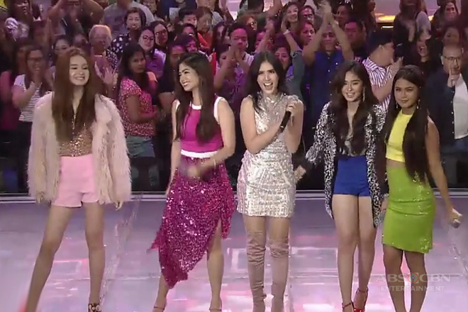 Heaven, Kira, Loisa, Sofia and Maris are 'Glamorous' gals on the ASAP stage!