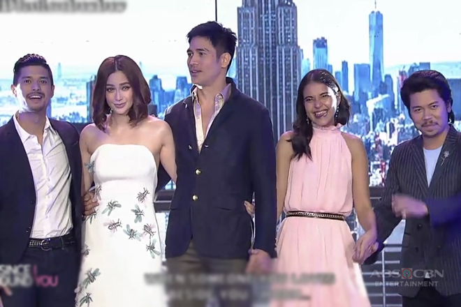 The all-star cast of Since I Found You on ASAP