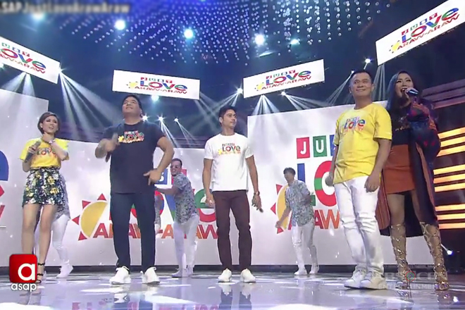 'Just Love Araw Araw' with ASAP stars!