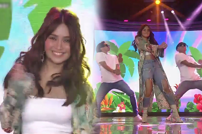 Kathryn Bernado accepted the 'Katchi' dance challenge on ASAP!