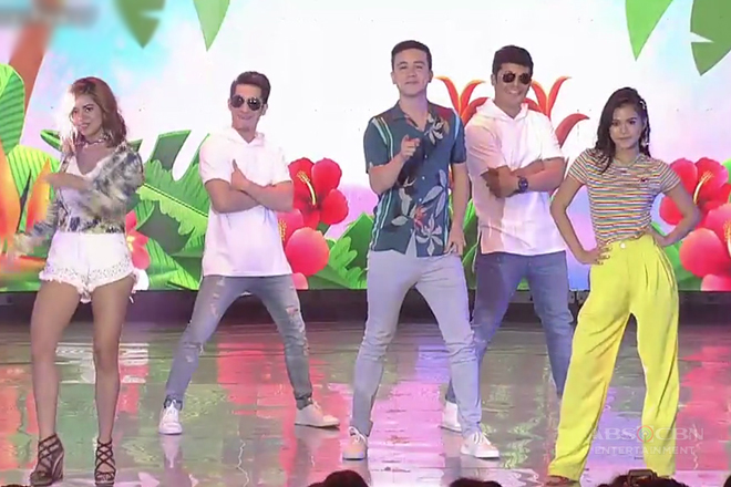 WATCH: Cast of 'Hanggang Saan' showcase their hot dance moves!