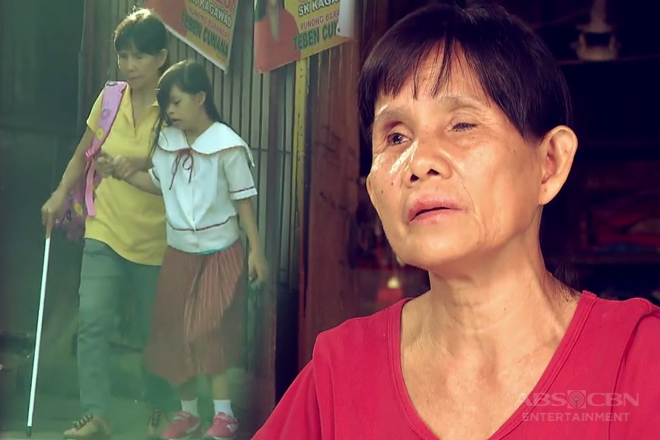 WATCH: The inspiring story of a blind mother featured on ASAP TLC