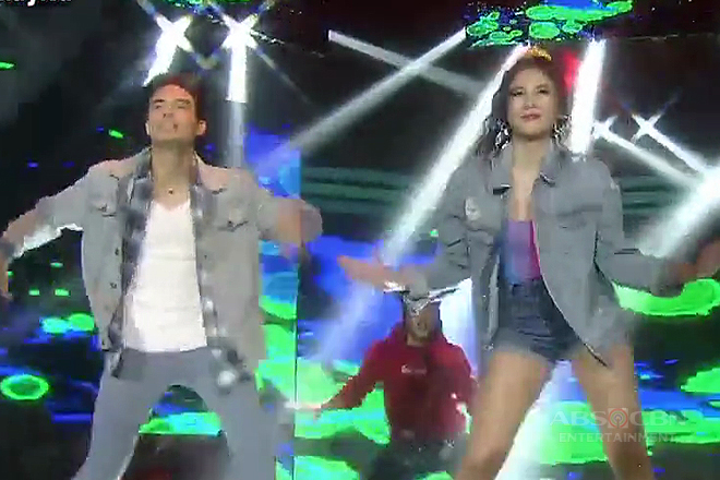 So Connected stars Janella and James pump up the stage with their 'Finesse' performance