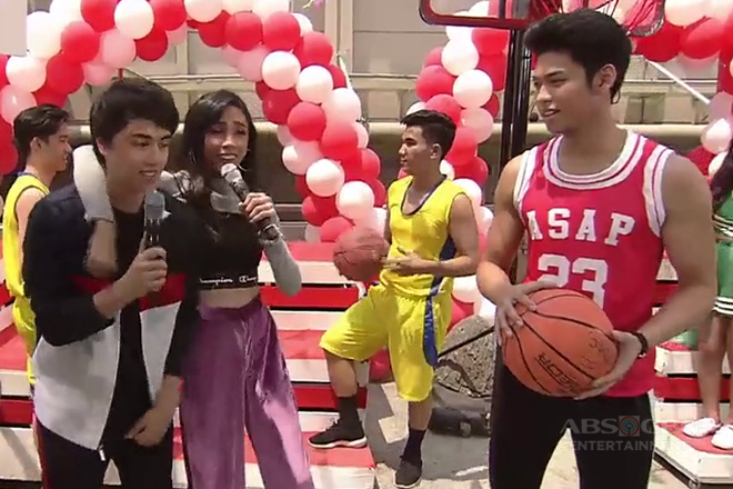 Edward Barber, nag-selos nga ba sa basketball tutorial nina Maymay at Ricci?