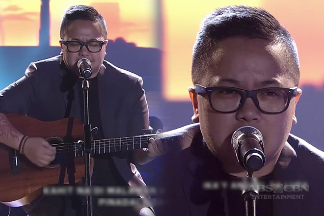 Ice Seguerra's heartrending song number on ASAP!
