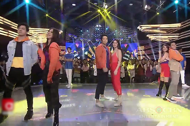 Love team showdown! #McLisse, #ElNella and #Joshlia leave the dance floor blazing