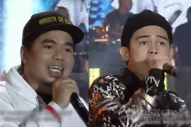 Inigo Pascual & Gloc 9 in an all-out rap showdown!