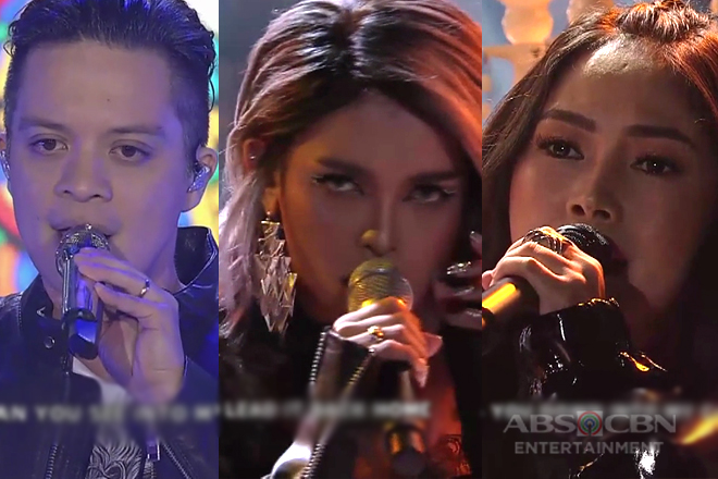 ROCK BATTLE! Bamboo, KZ and Yeng in one electrifying number!