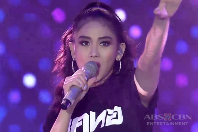 Sarah G shows inner swag in her rendition of 'Friends'