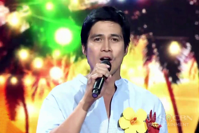 Piolo Pascual sings Inigo's hit song