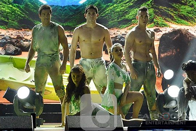 Temptation Island! Maja Salvador with the hottest heartthrobs in one dance spectacle!