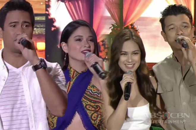 'Halik' stars Jericho, Yen, Sam & Yam on ASAP