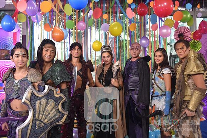 The 'Bagani' stars bring Sansinukob to ASAP