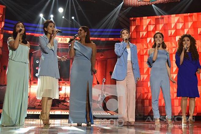 Sarah, Toni, Juris, Klarisse, Anna & Vina relive the music of ABBA on ASAP Replay