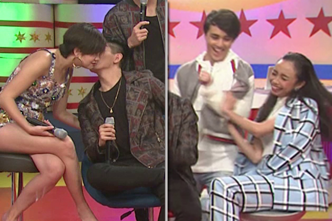 WATCH: Maymay's funny reaction after Joao kissed Sue Ramirez