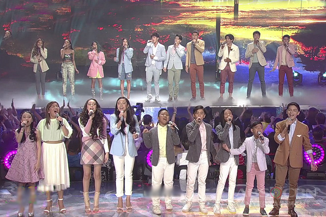 Kapamilya singers dedicate performance for a clean, safe and honest election
