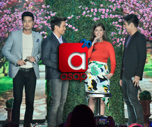 PHOTOS: The one and only Angel Locsin with Kapamilya heartthrobs on ASAP20