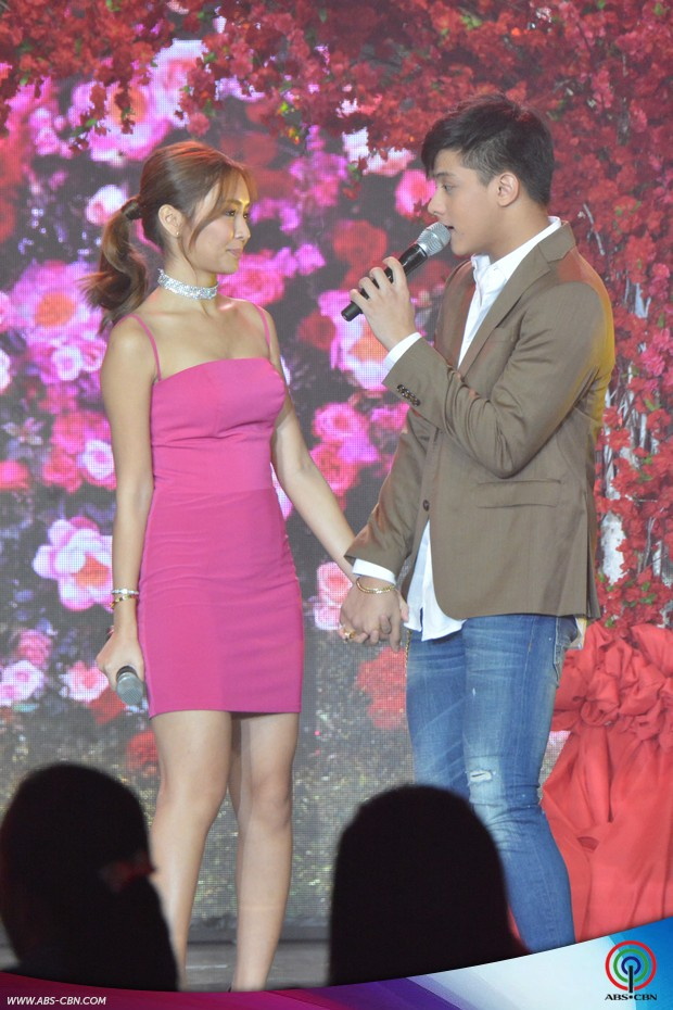 PHOTOS: 2x the kilig with Pangako Sa'Yo's AngYna & AmorAdo on ASAP stage