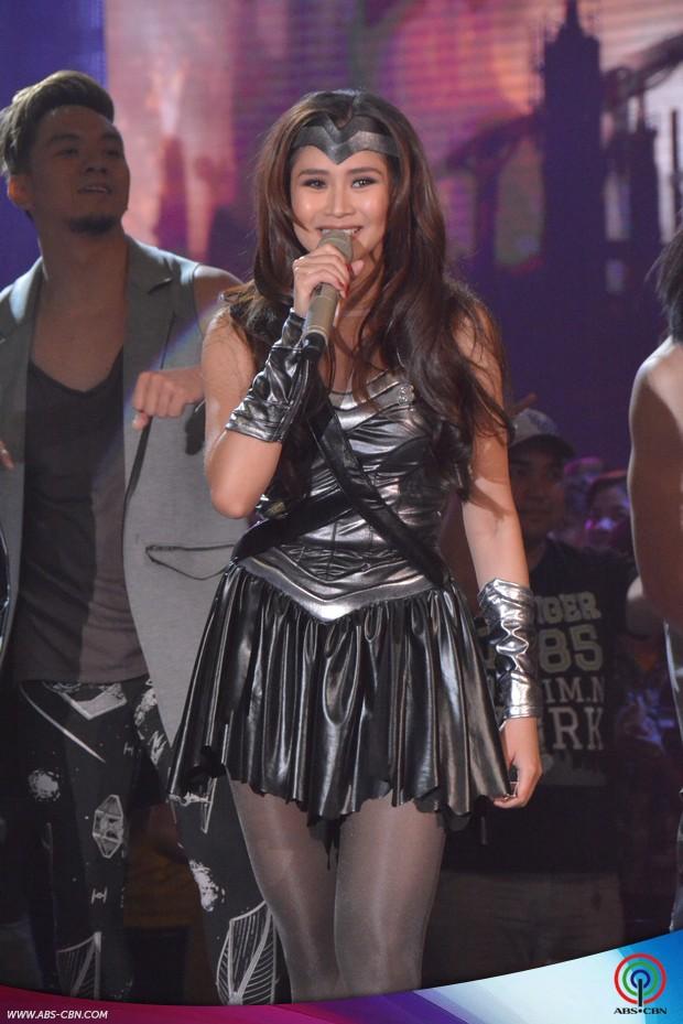 LOOK: 'Wonder Woman' Sarah G in astig ASAP concert performance