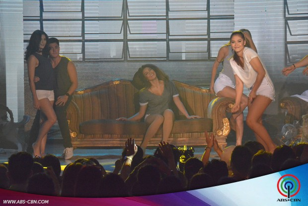 CAPTURED ON CAM: Sarah & Maja's sizzling dance moves with MJ & Jamie plus the hottest