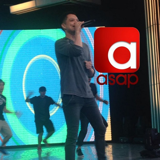 #ASAPMayPasabog rehearsal and backstage photos