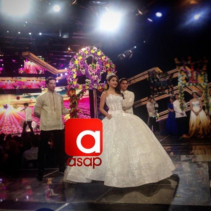 LOOK: Pretty teen idols Sue, Janella, Andrea & Ylona in elegant gowns for ASAP Flores de Mayo