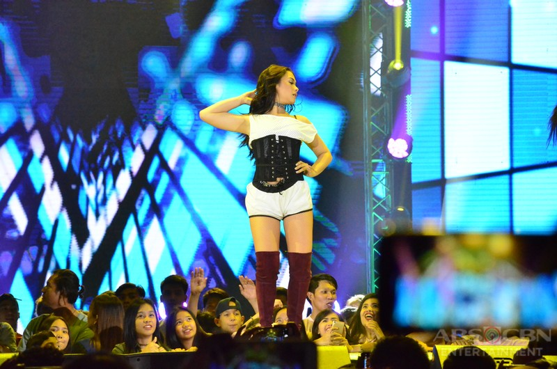 PHOTOS: Maja shows off her signature twerk moves at the Star Magic silver anniversary party