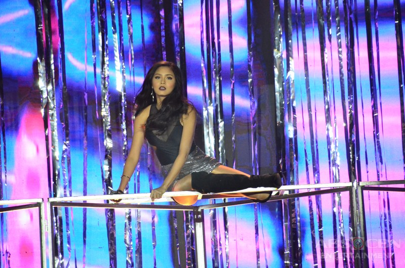 PHOTOS: KimErald's sizzling hot prod number at the Star Magic 25th Anniversary Party