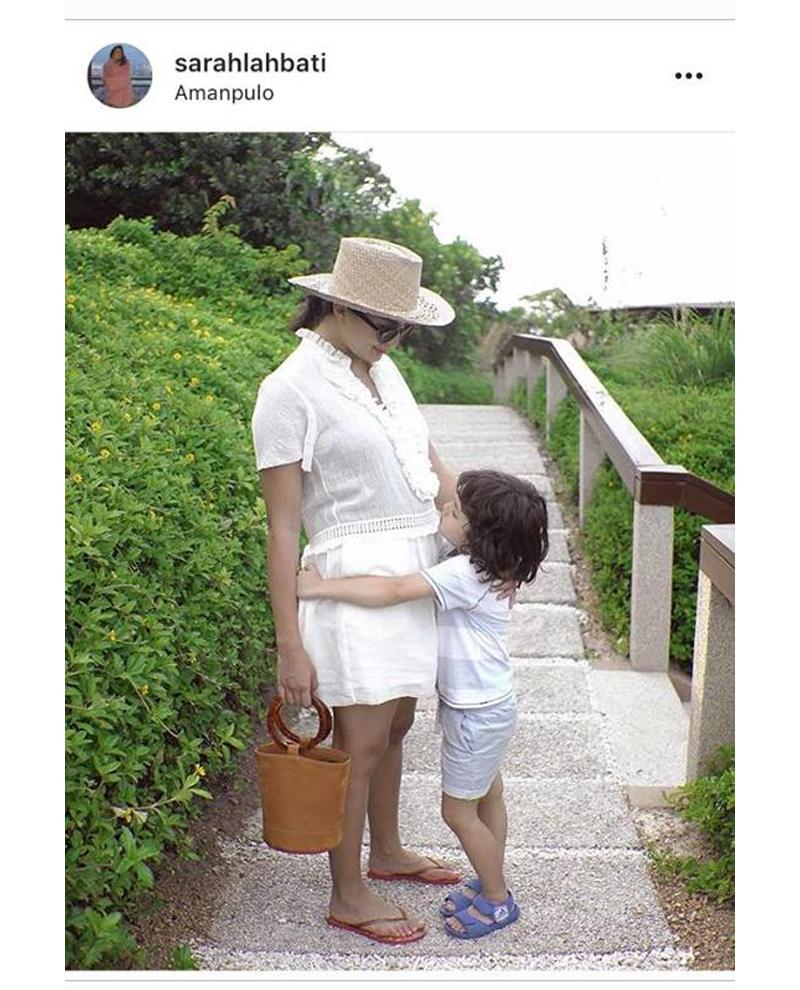 #HotMommaGoals! 10 Photos of Sarah Lahbati Flaunting Her Baby Bump!