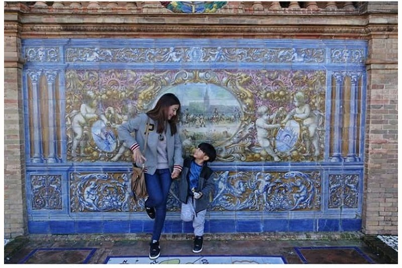 Perfectly Captured! Precious moments of Kyla with her cutie little boy