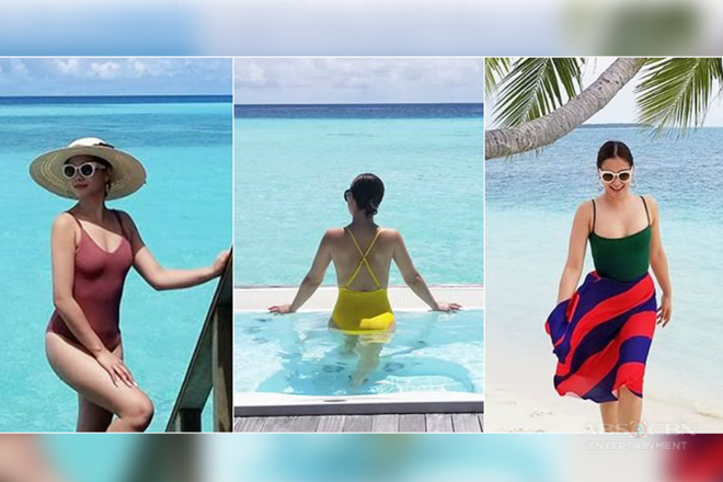 LOOK: Just 14 sexy photos of Maja wandering in Maldives!