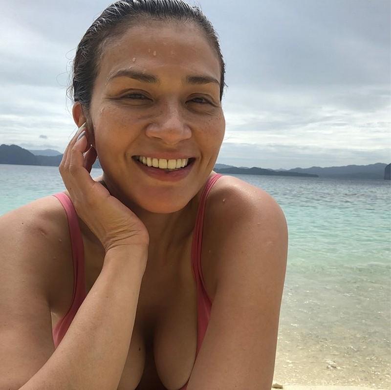 LAST HURRAH! Zsa Zsa Padilla enjoying summer before the season ends