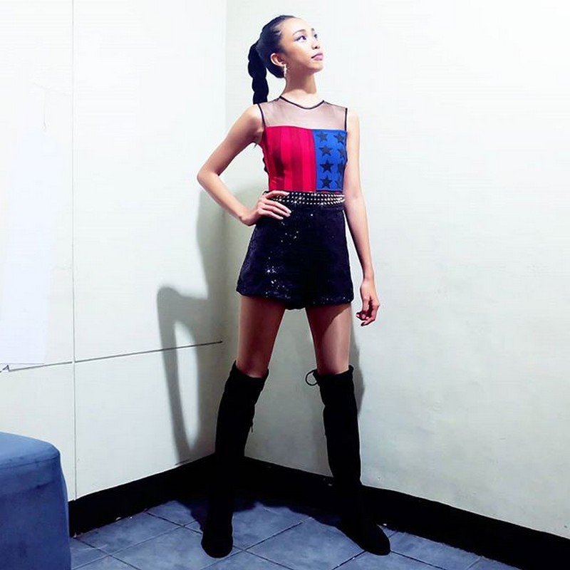 Is she a top model in the making? Here are photos of Maymay that might make you think so!