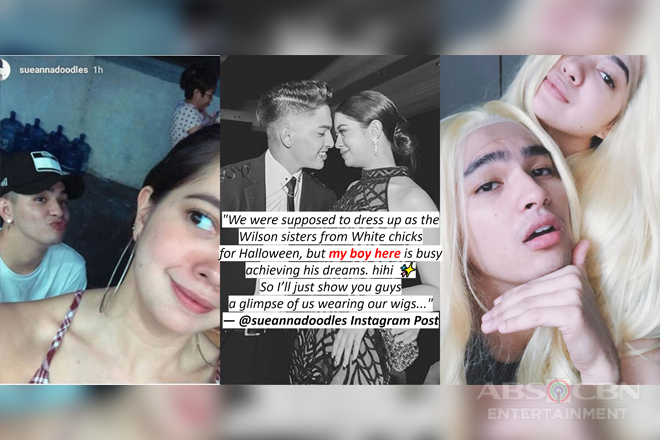 SPOTTED: 21 cheesy photos of Sue Ramirez with