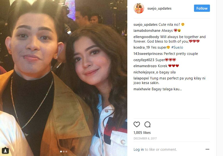 "SPOTTED: 23 cheesy photos of Sue Ramirez with ""her boy"""