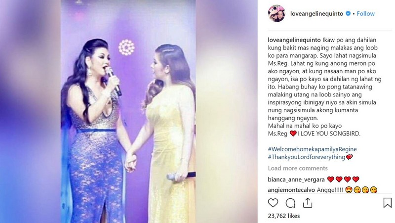 This is how ASAP stars welcomed Regine Velasquez-Alcasid as a Kapamilya