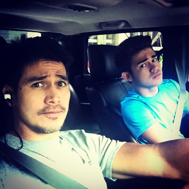 Like father, like son! 41 times Piolo & Inigo were actually father & son goals