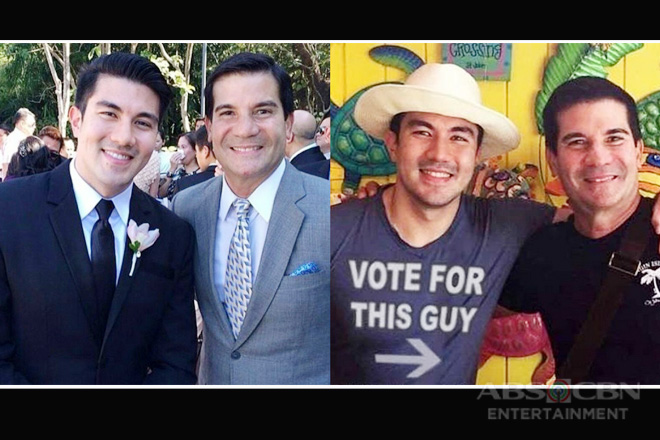 14 photos of Luis Manzano with his ever supportive 'pogi daddy' Edu!