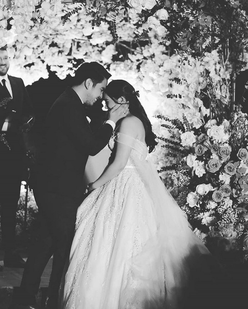SEE Moira & Jason's FIRST KISS and other happenings in their wedding