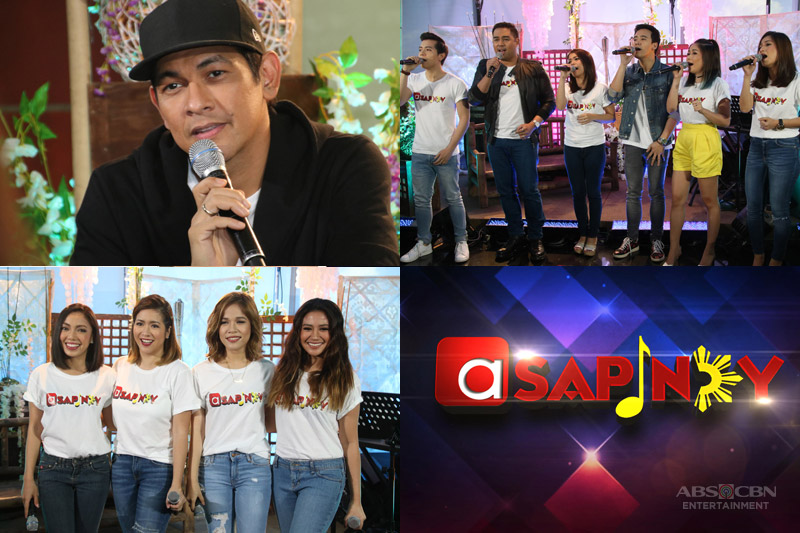 """""""ASAP"""" Pays Tribute To Original Pinoy Music On """"ASAPinoy"""""""