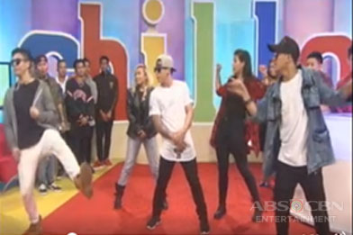 Trending dance group Rockwell shows off their dance moves