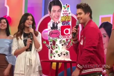 LOOK: Enrique's birthday on ASAP Chillout
