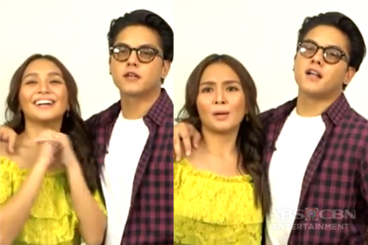 Kilig #25Seconds Challenge with KathNiel