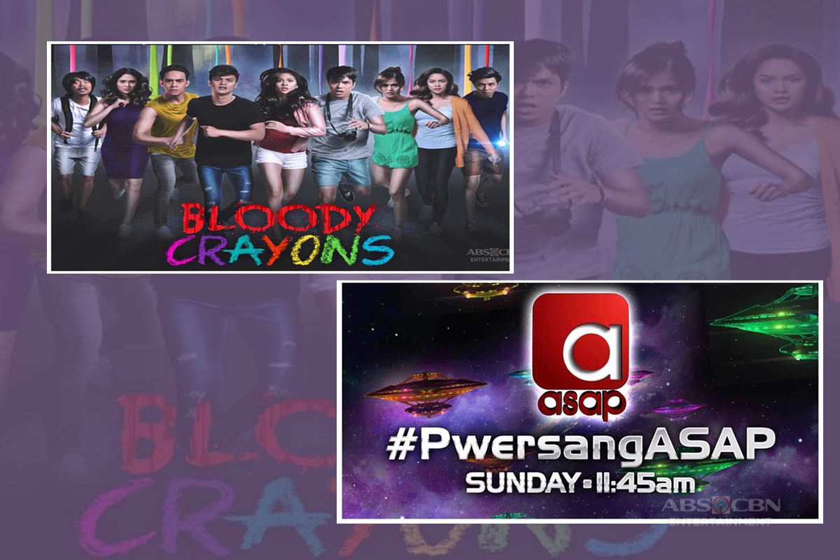 "Cast of ""Bloody Crayons"" brings fun and thrill in ""ASAP"" this Sunday"